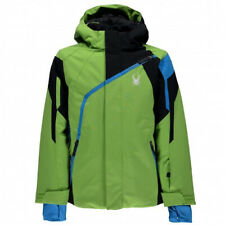 Syder Boy's Challenger Ski Jacket Size 16 Green Snowboarding