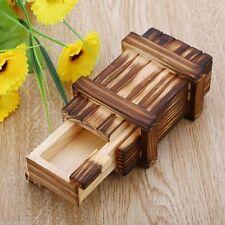 Magic Puzzle Box Wooden Secret Mini Compartment Gift Intelligence Brain Teaser