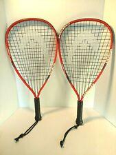Head Demon Racquetball Racquets Size 3-5/8 Nano Titanium Set of 2 NEW