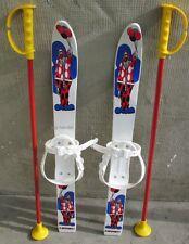 Babyski Lernski 70cm Kinderski für Kinder in Fabe Weiß Clown mit Luftballon