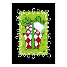 Evergreetings Christmas Card and Garden Flag - Polka Dot Presents