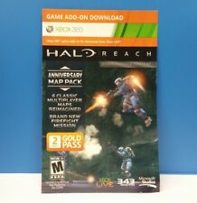 HALO READ ANNIVERSARY MAP PACK + 48 HOUR TRIAL (XBOX 360)(DLC AND ONLY) #23