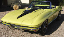 1967 Vette Corvette Chevy Vintage Sport Car Race 1 12 Exotic Carousel Yellow 18