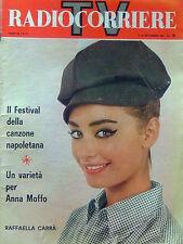 RADIOCORRIERE TV N. 37, 08-14 SETTEMBRE 1963
