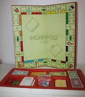 Rare Vintage Waddingtons Monopoly The Property Trading Board Game 1984 F/POSTAGE