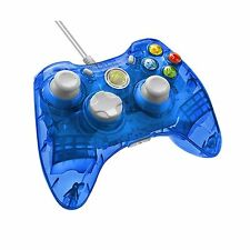 PDP Rock Candy Wired Controller for Xbox 360 - Blueberry Boom Free Shipping