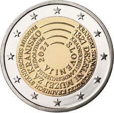 ESLOVENIA 2 EUROS 2021 CONM. - BICENTENARIO PRIMER MUSEO DE ESLOV. - PREVENTA
