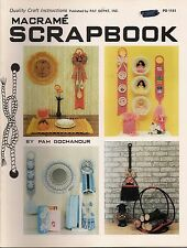 Craft Book: #Pd1151 Macrame Scrapbook - Patterns For Every Room