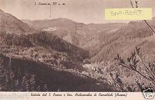 C004721 Arezzo (AR) Veduta del S. Eremo e Ven. Archicenobio di Camaldoli - nv fp