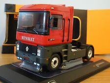 IXO RENAULT MAGNUM AE 420 TI 1992 RED & GREY TRUCK CAB MODEL TR066 1:43
