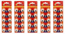 50 PC AG5 LR754 393 LR48  1.5V  Button Cell Alkaline Batteries EXPIRED 12/2016
