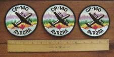 ROYAL CANADIAN AIR FORCE RCAF LOCKHEED CP-140 AURORA AIRPLANE PATCHES (LOT OF 3)