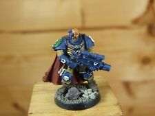 CLASSIC METAL SPCE MARINES ULTRAMARINES SERGEANT TELION WELL PAINTED (2594)