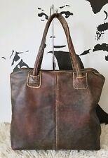 Jas MB London Bag, Vintage Distressed Leather
