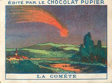 Comète Komet Cometa  ASTRONAUTIC ESPACE SPACE IMAGE CHROMO 30s