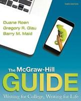 Mcgraw-Hill Guide Writing For College Writing For Life - by Roen