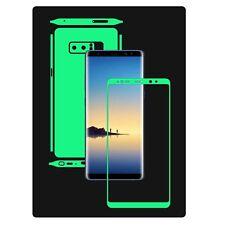 Glow in the Dark Skin Protector,Full Body Vinyl Decal Case Wrap, Samsung Note 8