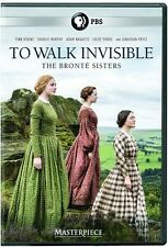Masterpiece: To Walk Invisible - Bronte Sisters (2017, REGION 1 DVD New)