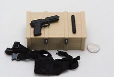 1/6 DAM Navy Seal Recon Team Leader MK23 Pistol Holster Set *TOY Figure Size*