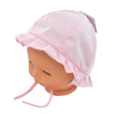 BONNET CHAPEAU DE SOLEIL ETE NAISSANCE BEBE / ENFANT  FILLE ROSE