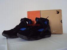 Original Nike Air Flight huarache kobe Black Blue 10/44 nuevo New 305439041 2003