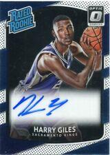 Harry Giles 2017-18 Panini Donruss Optic Signatures Autographed Rc Rookies Auto