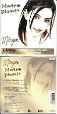 CD CARTONNE (CARDSLEEVE) 2T MARYON NOTRE PLANÈTE EUROVISION 2004 MONACO NEUF