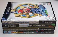 4 x Replacement Nintendo GameCube Game Cases + Artwork