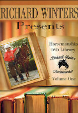Horsemanship Library Part 1 DVD with Richard Winters - NEW