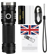 Sofirn SP33 v3 Led Torch Bright 3500 Lumen USB-C rechargeable XHP50.2 6500K UK