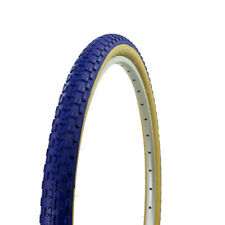 "NEW! 26"" x 1.75"" BMX bike BLUE GUM WALL Comp 3 design bicycle tire 65PSI"