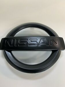 2009-2015 Nissan Maxima Front Grille Emblem Black 62890-9N00A W/Adhesive