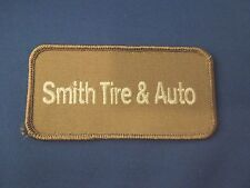 Smith Tire & Auto Logo Iron On Patch - Located in Oklahoma