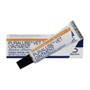 Puralube Artificial Tears Ointment Dogs Cats & Horses 3.5 GM Longest exp avail