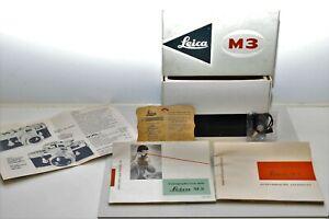 Leerkarton Leitz Leica M 3, guter Zustand
