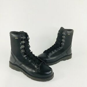 Danner Sample Mens Sz 10 D Black Leather GoreTex Tactical Mlitary Combat Boots