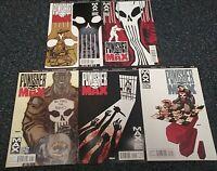 2011 Punisher Max Comic Lot #13, 14,15,16,17