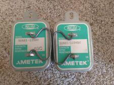 """Lot of 2"" Ametek Panalarm 50AR1-125DC Relay - New/Old Stock"