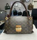 Louis Vuitton Brown Monogram Olympe Bag