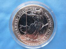 2014 Britannia 2 Pounds Horse Privy 1 Oz Ag .999 Pure Silver BU Coin