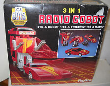 #7728 MIB/NRFB Vintage Playtime Products Go Bots 3 In 1 Radio Gobot