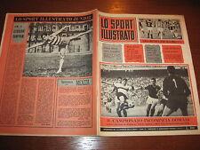 LO SPORT ILLUSTRATO GAZZETTA 1965/14 INTER BOLOGNA JUVENTUS TORINO POSTER FOGGIA