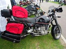 BMW  R100 K75 K100 K1100RS K1100LT PANNIER LINER BAGS IN RED COLOUR