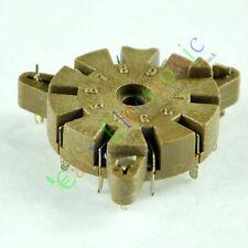 4pc 9pin Bakelite vacuum tube socket for Chassis 12AX7B 12AU7B 6DJ8 audio amps