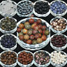 Wholesale Natural Gemstone Round Spacer Loose Beads 4/6/8/10/12mm Jewelry Making
