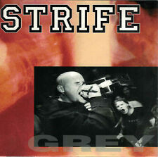 "STRIFE To an end / grey 7"" Vinyl Single (1995 Victory)"