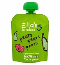 Ella'S Kitchen Pears Pears Pears Stage 1 From 4 Months 70G