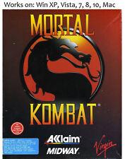 Mortal Kombat 1 + 2 + 3 PC Mac Game