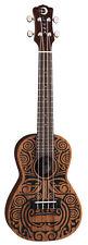 LUNA Guitars Tribal Concert Ukulele Satin Natural