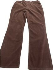 Chico's Washed Corduroy Brown Jeans Size 2  NWT